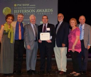Rotary Club of Trenton Receives Jefferson Awards for Public Service