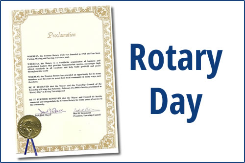 Rotary Day Proclamation